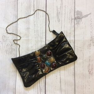 Jessica McClintock Handbag Purse Chain Strap